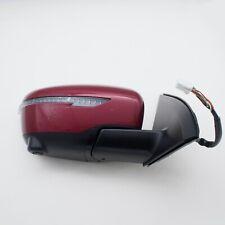 Genuine Nissan Qashqai MK2 15-19 Right Side Wing Mirror Power Fold Camera Red
