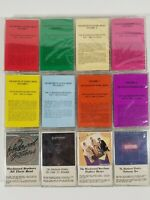 Lot of 12 cassettes The Blackwood Brothers Christian Gospel Music, 11 NEW/Sealed