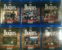 The Beatles Television Archive Vol 1-6 Complete Blu-ray 6 Discs Set Music Rock