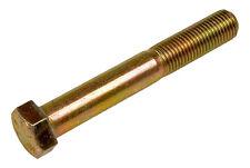 3/8-16 X 4 Hex Cap Screw Partial Thread Grade 8 Yellow Zinc (5 PC) 3/8