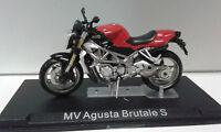 MV AGUSTA BRUTALE S BIKE MOTO ALTAYA IXO 1/24