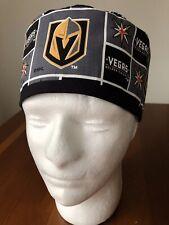 Vegas golden Knights NHL Men's Surgical Scrub Hat - Skull Cap