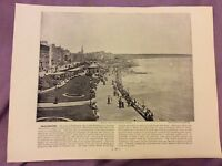 Antique Book Print - Bridlington OR Sark - UK - c. 1895