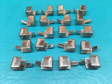 20 Stainless Steel J Clips Woodard Ionian Patio Furniture Vinyl Strapping Hooks