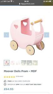 Moover Childrens Wooden Pram