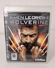 X-MEN LE ORIGINI WOLVERINE  UNCAGED EDITION PS3 ITALIANO PLAYSTATION 3 NUOVO NEW