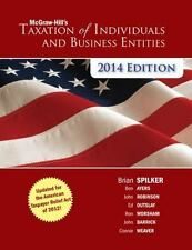 McGraw-Hill's Taxation of Individuals and Business Entities 2014 Edition with Co