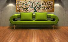 """Print  bush tree beige australia painting canvas landscape art 90cm 36"""""""