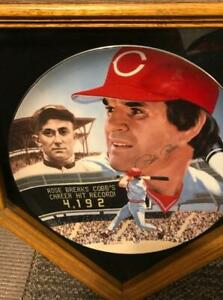 "Pete Rose Platinum Edition Collector's Plate-Signed ""The Best of Baseball"""