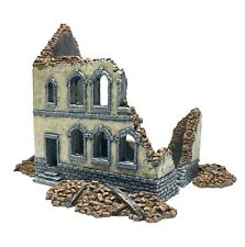 Wargame Scenery - 20mm - 1/72nd Scale - 25mm Ruin (#2) - Wargame Buildings -