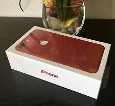 BRAND NEW APPLE iPHONE 7 Plus 128gb - RED AT&T- 1 YR APPLE WARRANTY CLEAN IMEI