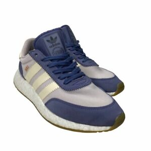 Adidas Womens Iniki Runner Sneakers Navy BA9995 Low Top Lace Up Shoes 8.5 M