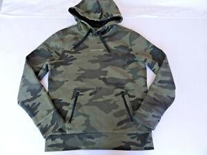 Hollister Herren Kapuzenpullover Hoodie Gr.M Camouflage