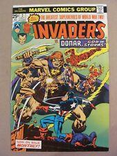 Invaders #2 Marvel Comics 1975 Series Captain America Namor 9.2 Near Mint-