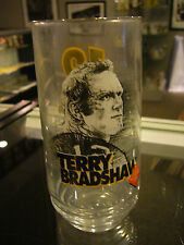 1996 Eat N Park Steelers Hall Of Fame Series Terry Bradshaw Glass