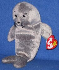 TY SLIPPERY the SEAL BEANIE BABY - MINT with MINT TAGS