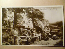 1932 Used Postcard- LOVER'S SEAT, FAIRLIGHT, HASTINGS,Sussex, No.H11 + STAMP