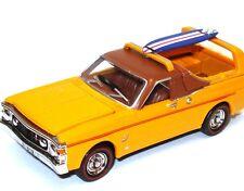 NEW Cooee Road Ragers 1969 XW Orangen Surferoo Ute & Surf Board 1:64 scale