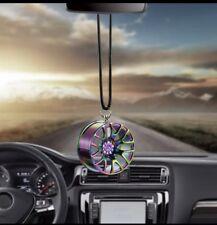 Car Rear Mirror Wheel Hanging Pendant
