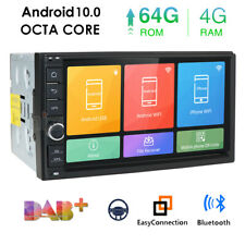 """Double Din 7"""" Android 10 4GB RAM Car Stereo Radio GPS Navigation Touch Screen 4G"""