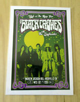 THE BLACK CROWES  : HIGH AS THE MOON TOUR 1992  : A4 GLOSSY REPRODUCTION POSTER