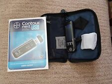 Bayer Contour Next USB Blood Glucose Monitoring Monitor/Meter + Test Strips