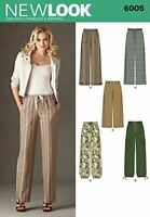 New Look Sewing Pattern 6005 Misses Pants Size A (10-12-14-16-18-20-22)