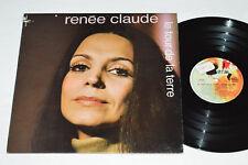 RENEE CLAUDE Le Tour De La Terre LP Barclay Records 80065 Vinyl Pop Chanson VG