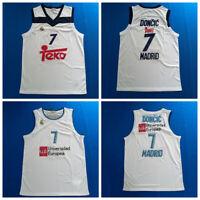 Luka Doncic #7 Teka Madrid Basketball Jerseys Euroleague All Stitched Jerseys
