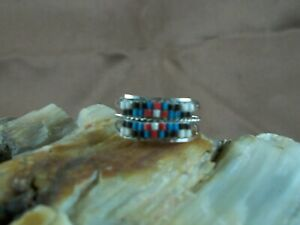 Beaded Ring, size 7