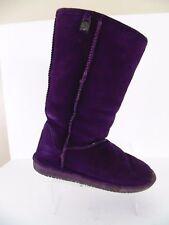 Bear Paw Women's Purple Boots, Casual, Comfort Size US 9 EU 40