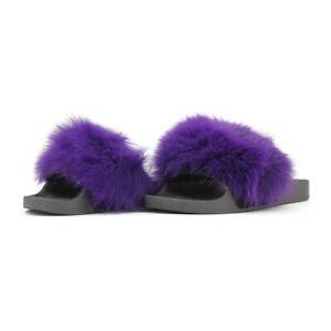 Ciabatte donna JOMIX pelose pantofole pelliccia pelo scarpe gomma SD2023