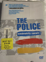 The Police - Synchronicity Concert (DVD, 2005) NEW, Sealed