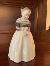 New listing Vintage Royal Copenhagen Girl Amager #1251 Danish Figurine