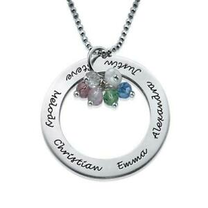 0.925 Silver Circle Necklace