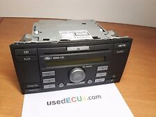 FORD FOCUS, MK2, C-MAX, 2005-09, RADIO, CD, PLAYER, UNIT, 6000 CD, VISTEON