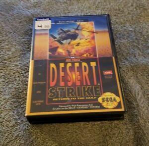 Desert Strike: Return to the Gulf (Sega Genesis, 1992)  Complete in Box - CIB
