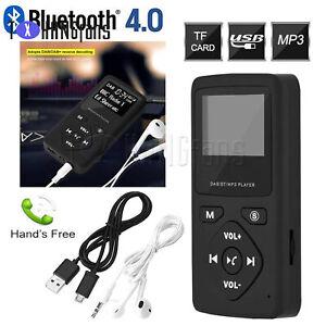 Pocket Portable Digital DAB DAB+ FM Radio Bluetooth MP3 Player Earphones ATF