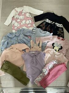 Baby Girls Clothes Bundle Age 6-9 Months