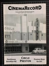 CINEMARECORD #62 rare Australian MAGAZINE cinema theatre history film movie
