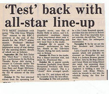 OLD GREY WHISTLE TEST press clipping 1976 10x15cm (18/09/76)