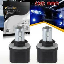 2pc Super Bright Blue 880 892 899 890 LED 5730 Car Auto Fog Light Bulbs Off-road