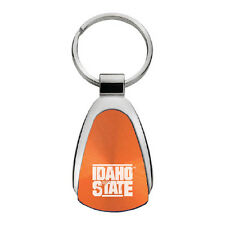 Idaho State University - Teardrop Keychain - Orange