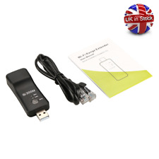 300Mbps USB Wireless WiFi Smart TV Adapter Universal RJ45 Repeater Extender UK