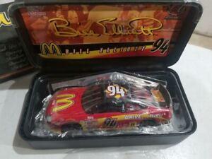 BILL ELLIOTT #94 Racing Champions McDonalds 1:24 Diecast 1/7500 w/body template