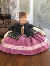 "Antique Russian Samovar Tea Cosy ""Mamushka� (Momma) Doll With Original Label"