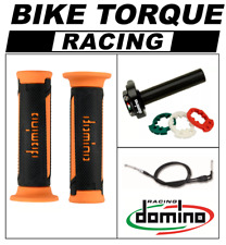 Z1000  Domino XM2 Quick Action Throttle Kit Black Orange TUR Grips
