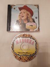 Mega Rare Australian Madonna Promo CD Single Don't Tell Me MAD02