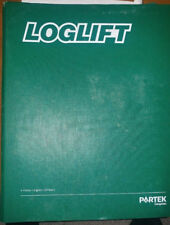 Partek Loglift Service & Parts Manual Used By Timberjack