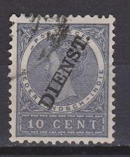 Netherlands Indies Nederlands Indie dienst zegel nr 17 used service stamp 1911